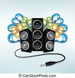 partido, oradores, música, modo
