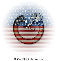 partido político, animales