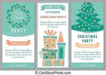 Fte style bureau invitation disco vecteur gabarit partie christmas invitations dans dessin anim style stopboris Image collections