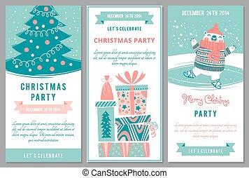 Fte style bureau invitation disco vecteur gabarit partie christmas invitations dans dessin anim style stopboris Gallery