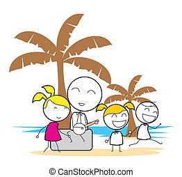 partie plage