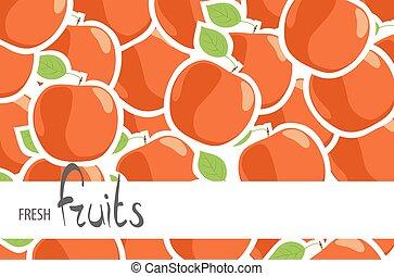 partij, appeltjes , rijp, rood