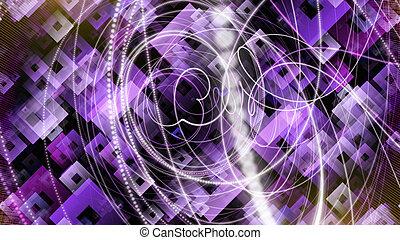 partikel, lichter, design, hintergrund, quadrate,...