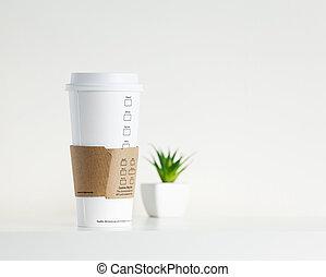 partir, café