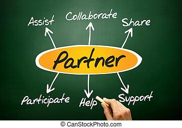 Partner diagram