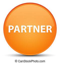 Partner special orange round button