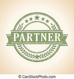 Partner stamp - Partner vector stamp
