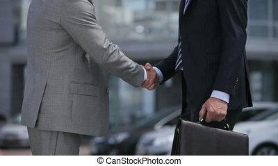 partner, verwelkoming