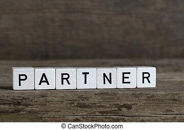 Partner, written in cubes