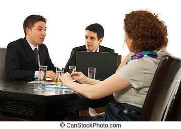 partnern, ha, konversation