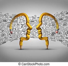 partnerschaft, ideen