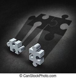 partnerschaft, vision