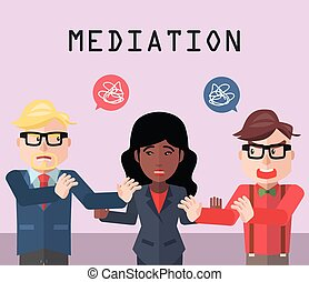 Partnership conflict mediator