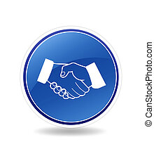 Partnership Icon - High resolution graphic of a partnership...