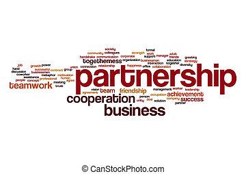 Partnership word cloud