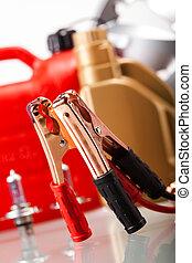 Parts Accessories on vivid moto concept