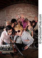 party, 1970s, musik, disko