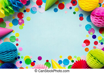 Party background - Birthday party background