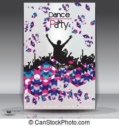Party Background. Vector