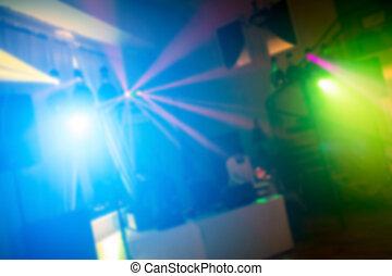 party, begriff, dancefloor, tanzende menschen