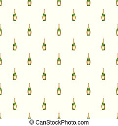 Party champagne pattern seamless vector