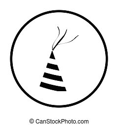 Party cone hat icon