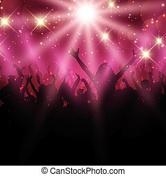 party crowd background 2702