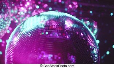 Party disco mirror balls