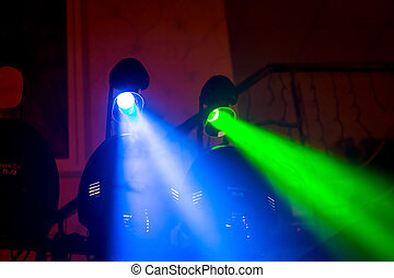 party, disko, dancefloor, lichter, zeit