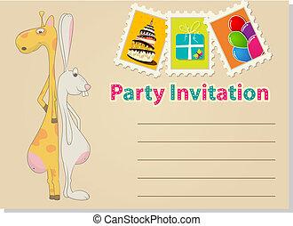 party, einladung
