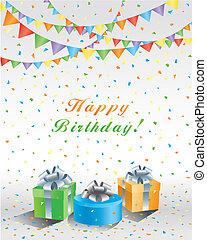 party!, födelsedag