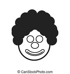 party face clown icon image
