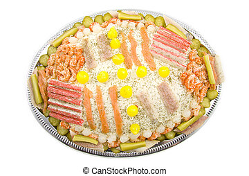 Party fish salad