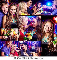 party, friends