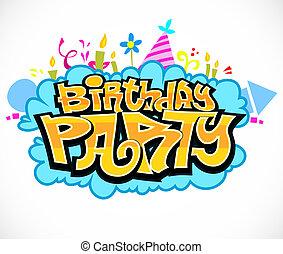 party, geburstag