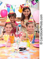 party, geburstag, kinder