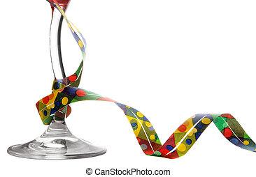 party, glas