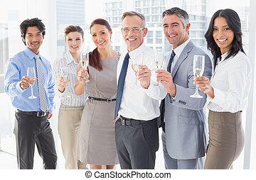 party, haben, geschaeftswelt, arbeiter