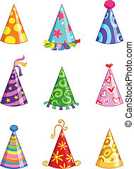 Party hats - Party hat set
