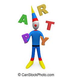 party, jongleur