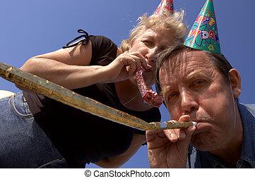 party, krachmacher, glücklich