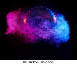 party, kugel, lichter, disko