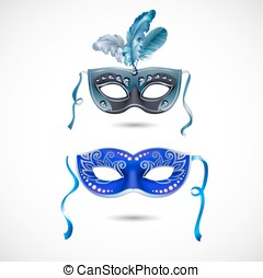 party mask - Available in high-resolution and several sizes...
