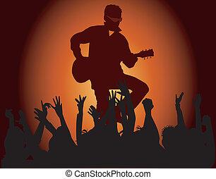Party musicians concert band