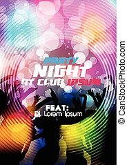 Party Night Party Poster