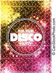 Party Night Poster Background