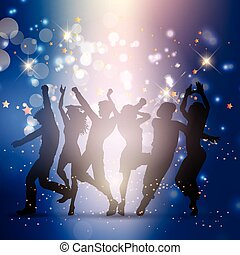 party people background 0106