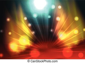 Party Poster Background Template -