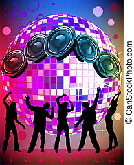 Party poster - vector