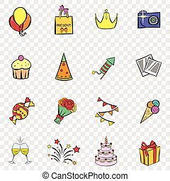 Party set icons